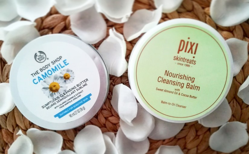 Manteca limpiadora de Camomila (The Body Shop) vs Nourishing Cleansing Balm (Pixi)