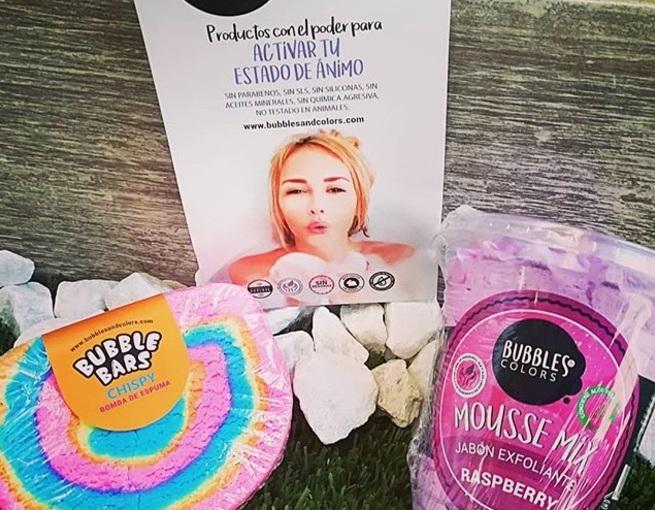 Bubbles&Colors; cosmética natural consúperpoderes