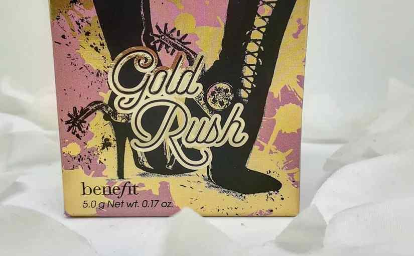 Gold Rush, el nuevo colorete de Benefit[Review]
